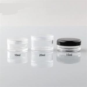10ml Plastic Empty Powder Puff Case Face Powder Blusher Makeup Cosmetic Jars Containers