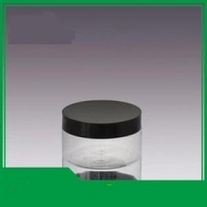 300ml plastic container for cookies plastic pet makeup face cream jar