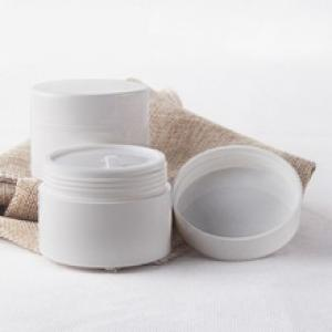 30ml Plastic White Cream Jar Mini Jar for Sample Cream Container for Skin Care Makeup Packaging 30ml