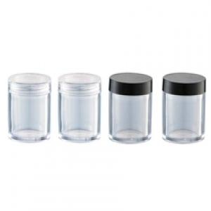 Clear Cosmetic Plastic Sample Makeup 50 PC Container Jar Empty Small 5 g New