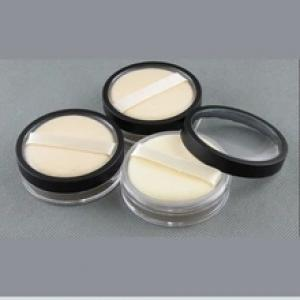 Wholesales 20g makeup loose powder container and puff