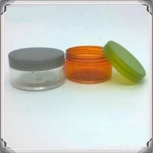 pet injection plastic jar for cosmetic makeup products container