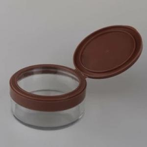 plastic makeup face body cream jar small plastic cosmetic containers with lids